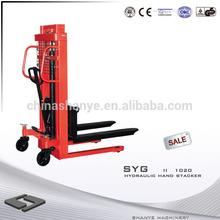Hand Stacker & hydraulic pallet jack 1000KG