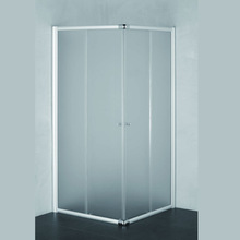 Simple and cheap sliding door shower room sliding glass shower door handles compact shower cabin