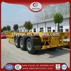China container semi trailer 40ton car trailer for sale