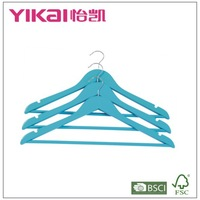 Flat Style and Shirts Clothing Type Bulk Wooden Clothes Hangers