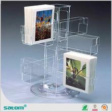 acrylic slat wall brochure holders from Guangzhou Satom