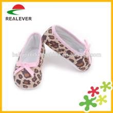 De la PU bebé de Mary Jane con estampado de leopardo zapatos de modelo : RE1007
