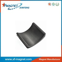 Hard Ceramic Sintered Ferrite Segment Tile Arc Magnets USA Standard C7