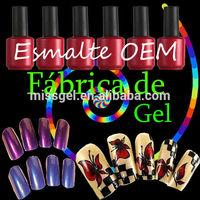 high quality Fabrica directa-Aprovecha las Ofertas de geles con tu propia marca!!!! 444 Colores de gel polish