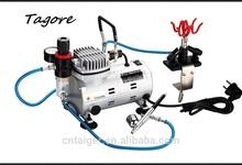 Tagore TG212K-03 mini air compressor for hobby cheap tattoo kits tattoo airbrush compressors