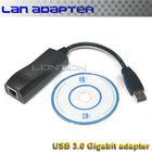 2014 new hot sale 1000Mbps Gigabit Ethernet RJ45 External USB 3.0 Network Card Lan Adapter