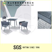 Moderna móveis de casa de jantar interior rattan mesa e cadeiras para o restaurante, sala de jantar conjunto mesa lg50x- c9331& lg50x- c9301