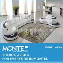 Modern furniture design top grade leather sofa factory direct