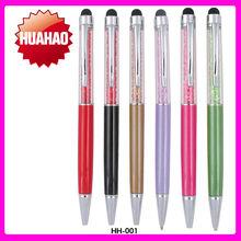 Promotional Crystal pen Rhinestone ballpoint Pen Jewelry ball pens