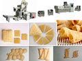 프랑스어 튀김 기계 다른 맛 칠면조 닭 짠 따뜻한 맛 팽화 스낵 가공 기계 CE 중국에서 만든