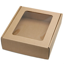 Wholesale Custom Corrugated Shipping Boxes With Clear Window