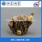 Mini Garden Resin Bird Flower Pot
