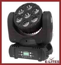 China Supplier Super brightness mini size 7*12W LED moving head dj,bar,stage,show, light