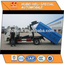 Small garbage truck,crane bucket type. van capacity 2500kg
