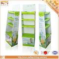Snacks promotionnel.& pucescas& pour animaux de compagnie alimentaire affichage rack, magasin de détail en carton d'affichage des aliments
