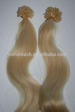 "Wholesale Brazilian virgin U-tip hair extension, keratin u-tip 14"" 16"" 18"" 20"" 22"" 24"" 26"" 28"""