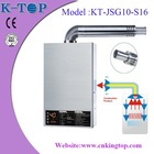 12L balance type S /S panel high quality LPG hot water heater,gas water heater ,gas geyser