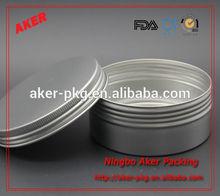 Metal Aluminum FDA Grade Candle jar and Any Size Aromatherapy Jars, Candy Jar