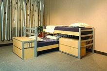 Factory Price Kids Furniture Beds, Chinese Bunk Beds for School