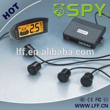 Wireless parking sensors with 4 sensor LCD display