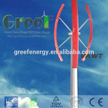 NEW!1kw vertical axis wind turbine, low start torque,small grid tied vertical wind generator