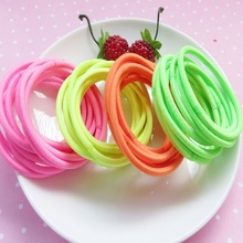 Multicolor korea style elastic Hair bands for girl