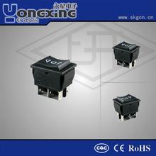 Hot sale 4A/6A/10A 250V AC 1/3HP/15R 125V AC Lamp/Light Rocker Switches
