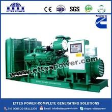 Ettes Power Diesel Generator Set with Cummins Engine from 20kw to 1200kw