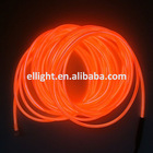 2.3mm Orange Decorative EL illuminant Rope/Wire