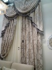 New european style whole home curtains