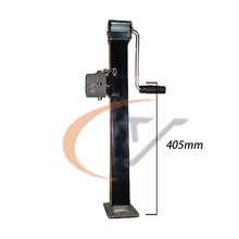 Trailer tubular Jack- heavy-duty mounting square tube Jack stands ( no drop leg)-sidewind-2000lbs