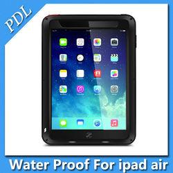 Original LOVE MEI Waterproof Dustproof and Shockproof Aluminum Metal Cover Case for iPad air