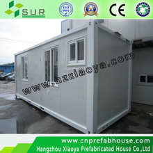 Two rooms 20ft Container office with certification(prefabricated house XYJ-05)