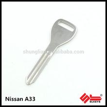 Nissan A33 High quality car key blank
