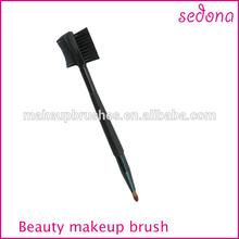 Professional sedona 2014 best seller lip brush,eye shadow eyeliner lip liner pencil pen,dual ended lip and eyelash brush