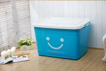 fashion smile plastic storage box