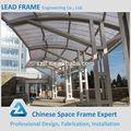 galvanizado light steel frame estrutura do dossel para garagem