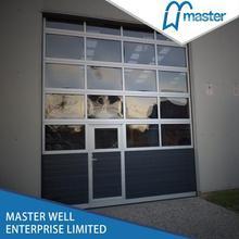 Glazed glass garage door / Aluminum glass sectional garage door