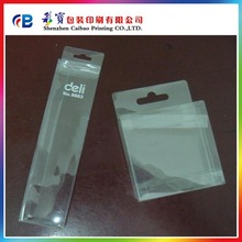 transparent plastic packaging pvc boxes