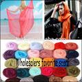 Venta al por mayor de gasa bufanda 2015 180*80cm accesorios de moda el último hombre bufandas bufanda de las mujeres voile cálida y suave chal hijab y del cabo