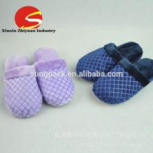Customized footwear designs cashmere bedroom or indoor leisure slipper