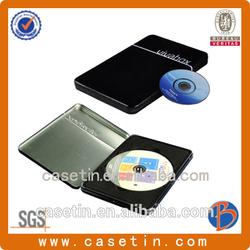black blank cd case/metal cd case/ cd case