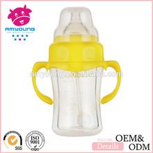food Glass baby feeding bottle,wide neck BPA free 120ml/4oz baby feeding bottle,baby bottle case Guangzhou