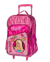 wholesale wheeled school bag trolley for girls