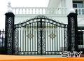 Decorativa moderna portões de ferro forjado modelos para casas ou fábricas