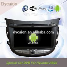 Car radio dvd player for Hyundai HB20 Bluetooth/Andriod Hyundai HB20 canbus/7 inch car video dvd player Hyundai HB20