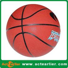 2014 hot sale mini leather basketballs