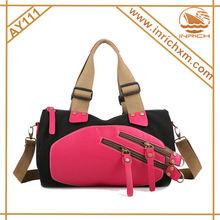 Canvas Travel Shoulder Bag For Men And Women