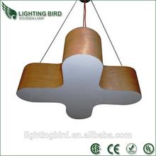 modern led ceiling light for living room wood chandelier pendant lamp fixture