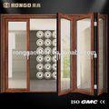 acessórios de alumínio bifold porta e janela alças e hardware